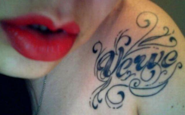 Amazing Typographic Tattoos (23 pics)