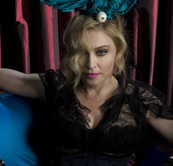 Madonna for Louis Vuitton without Photoshop Treatment! (11 pics)