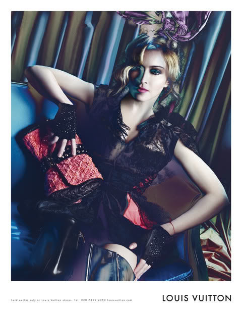 Madonna for Louis Vuitton without Photoshop Treatment! (11 pics)