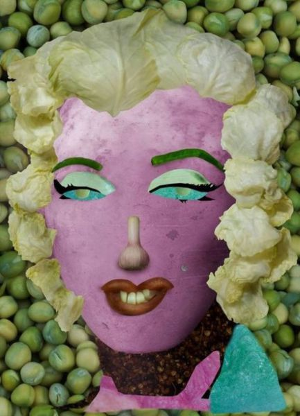 Using Vegetables to Create Famous Paintings (19 pics)