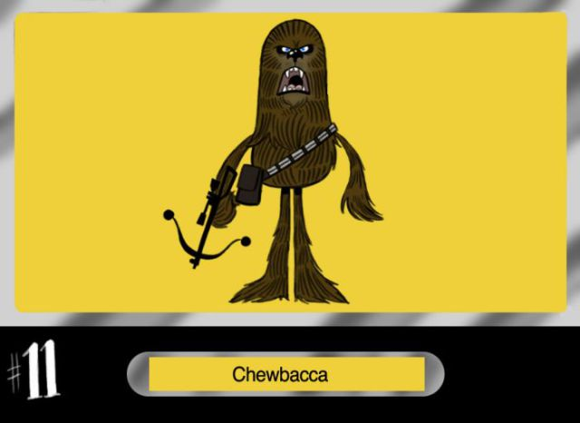 Awesome Drawn Star Wars Characters (30 pics)