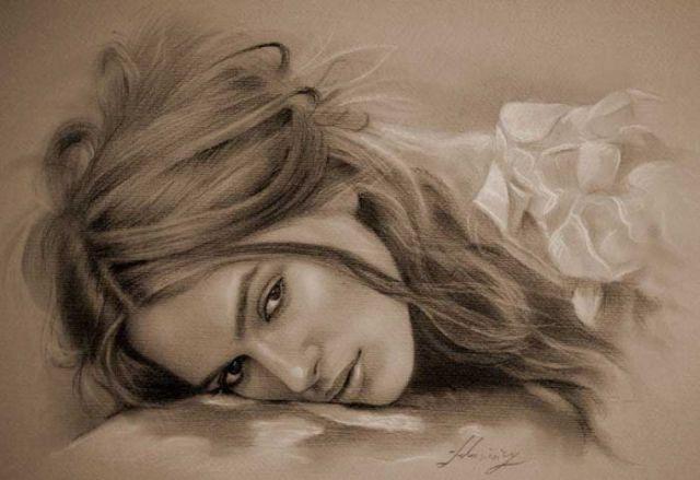 Beautiful Pencil Drawings of Women (54 pics)