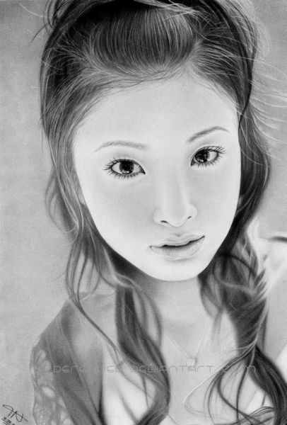 Beautiful Pencil Drawings of Women (54 pics)