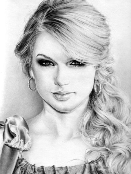 Taylor Swift Drawing