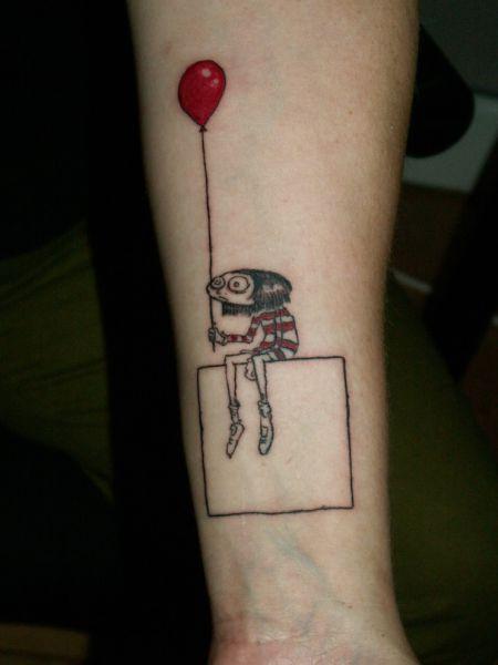Strange, Funny, and Beautiful Tattoos (80 pics)