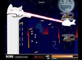 Catnarok Longcat Rampage