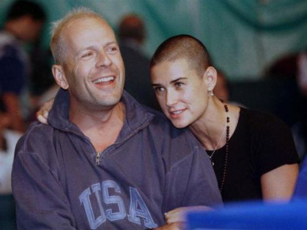 Demi Moore and Her Two Husbands (34 pics)