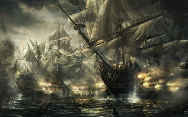 Paintings with Ships (27 pics)