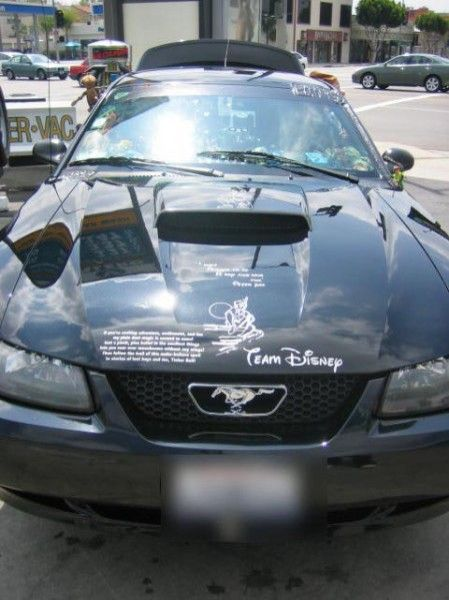 A Car for Disney (9 pics)