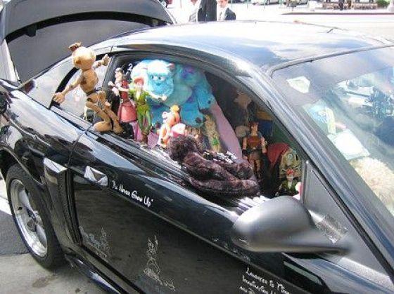 A Car for Disney (9 pics)