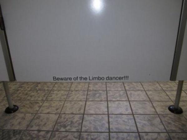 Beware of Limbo Dancers (2 pics)