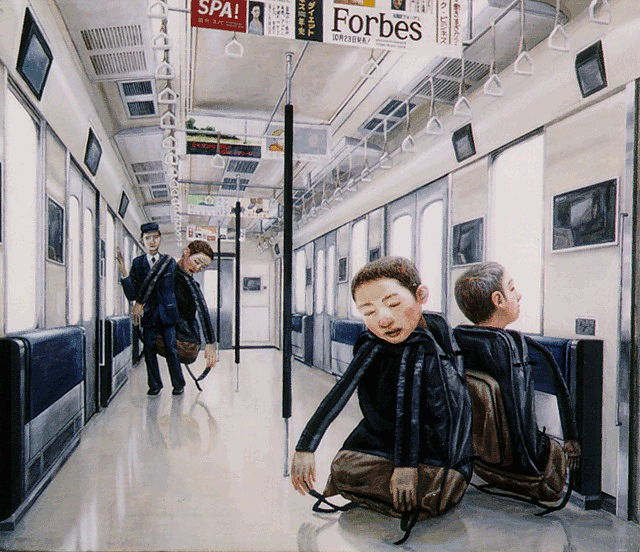 Disturbing Japanese Paintings (24 pics)