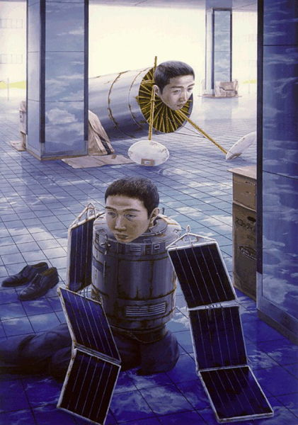 Disturbing Japanese Paintings (24 pics)