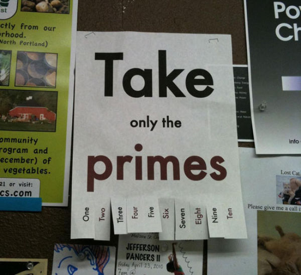 Useless but Funny Fliers (9 pics)