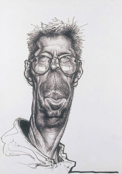 Drawings and Caricatures of the Famous (76 pics)