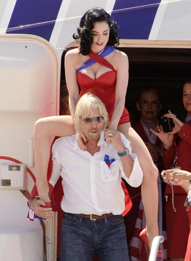 Dita Von Teese in Some Kind of Publicity Stunt (9 pics)