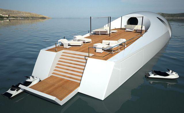 Cool Yacht Submarine (16 pics)