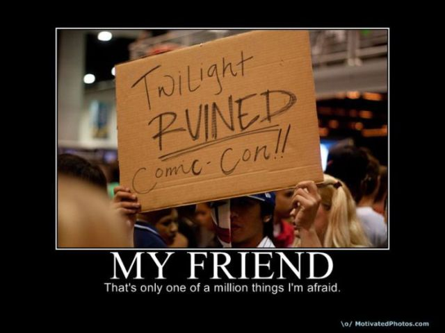 Funny demotivational posters. Part 5 (70 pics)