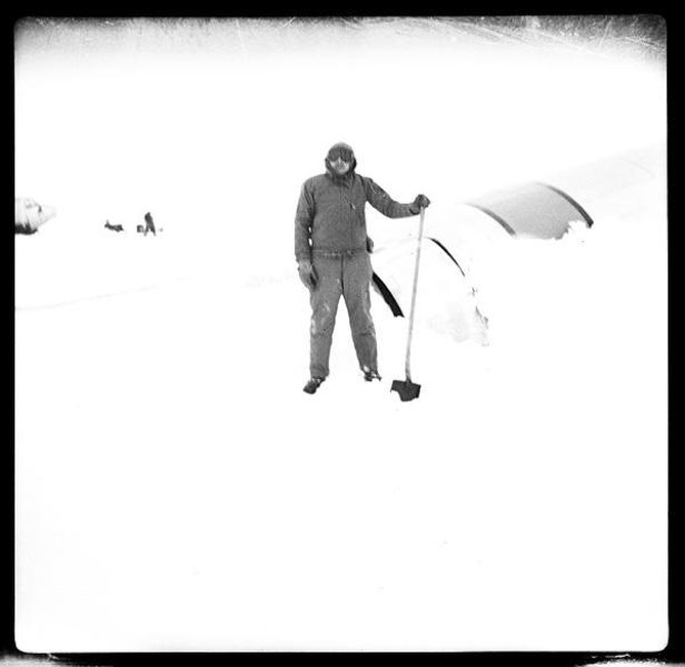 Rare Black and White Photos of the North Pole Expedition (25 pics)