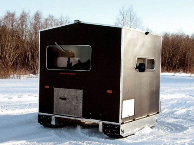 ice fishing trailer 8 pics