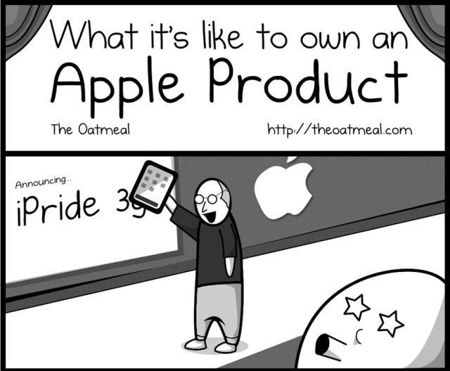The Non-Easy Life of an Apple Product Owner! (1 pic)