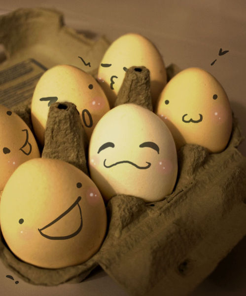 The Wonderful and Secret World of Eggs. Part 2 (64 pics)
