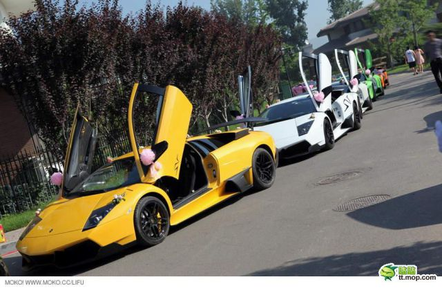 A Very Expensive Chinese Wedding (21 pics)