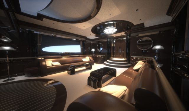Super Yacht Strand Craft 122 Comes along with a Nice Surprise (8 pics)
