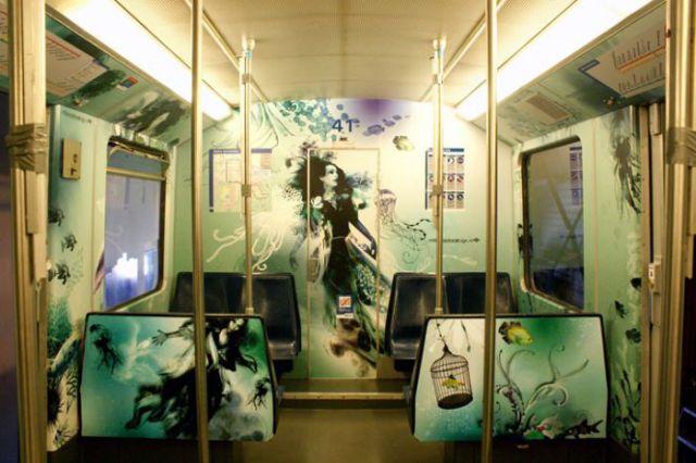 Amazing Underground Art (9 pics)