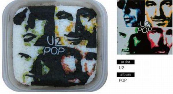 Fantastic Lunches Imitating Album Covers (49 pics)