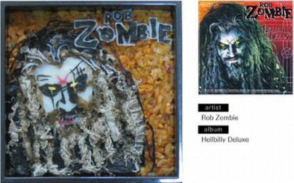 Fantastic Lunches Imitating Album Covers (49 pics)