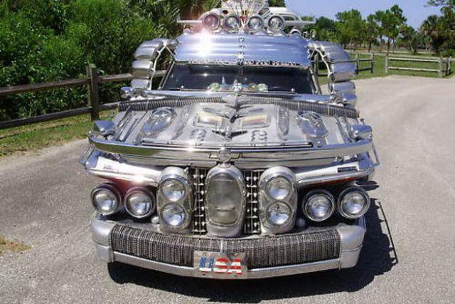 Quot Trash Quot Limousine At A Price Of Bugatti Veyron 17 Pics