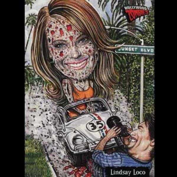 Turning Celebrities into Zombies (16 pics)