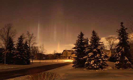 Light Pillars (26 pics)