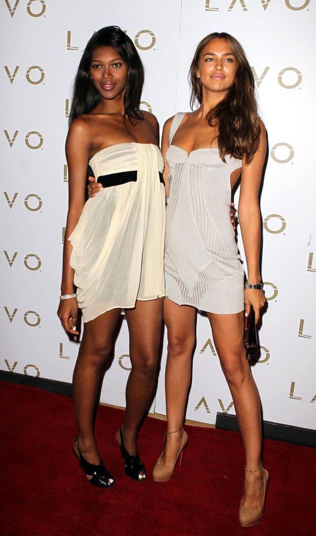 Hotness Overload: Irina Sheik and Jessica White (9 pics)