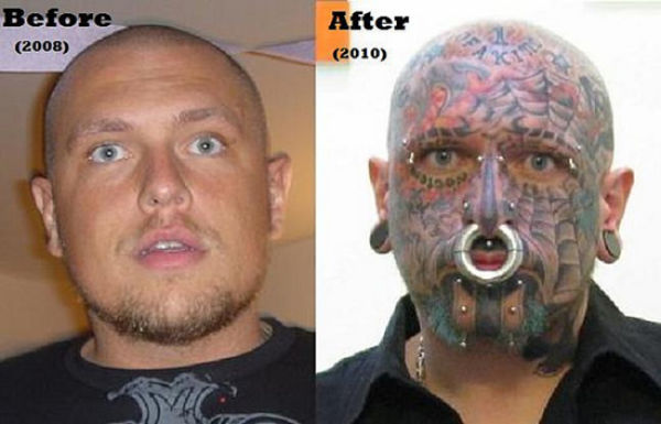 How 2.5 Years Can Change a Man (11 pics)
