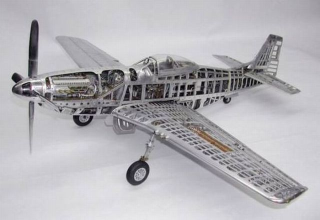 Realistic Plane Modeling (39 pics)