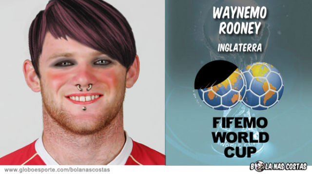 World Cup Players Become Emo (14 pics)