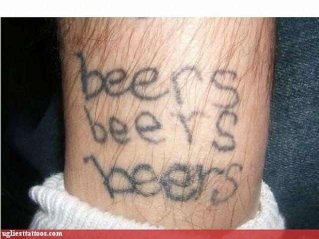Horrible Tattoos (57 pics)