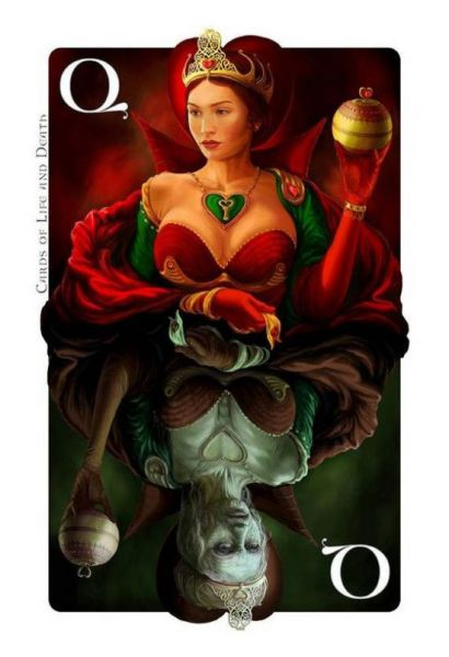 """Lucky"" Cards of Life and Death (8 pics)"