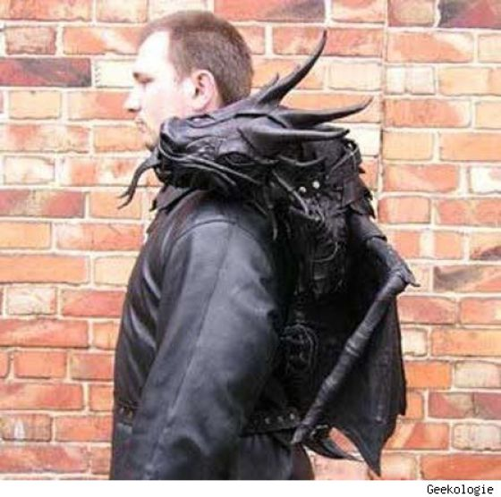The Craziest Backpacks (28 pics)