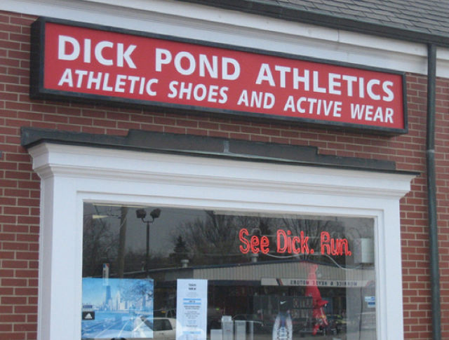 Unfortunate Names for Businesses (50 pics)