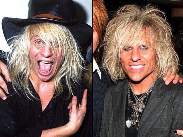Comment les rock stars ont changé (49 photos)