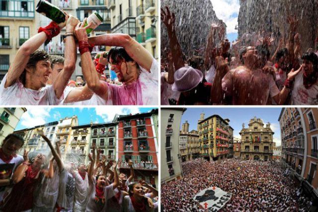 """Spray Each Other With Wine"" Festival (42 pics)"