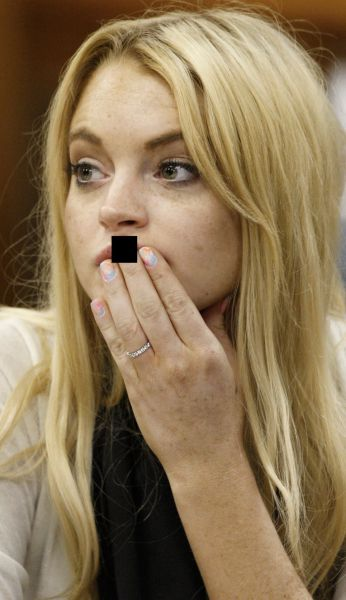 Lohan Went Nuts (8 pics)