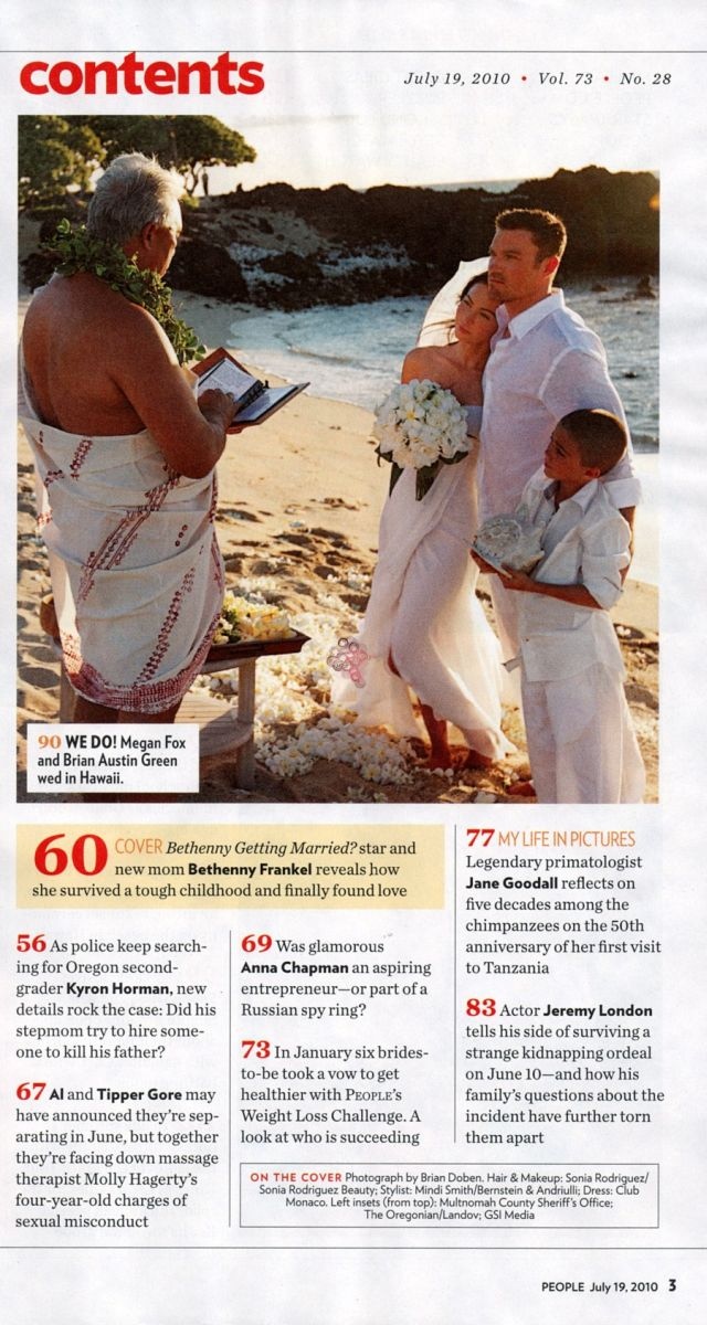 Megan Fox Is Married Now.. (10 pics)