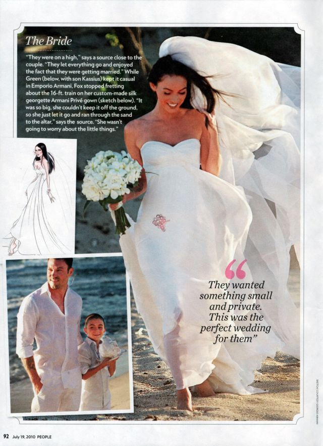 Megan Fox Is Married Now.. (10 pics)