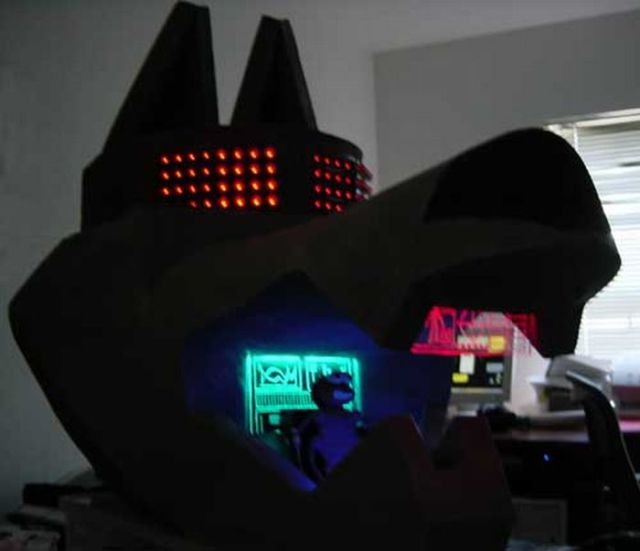Giant Mech Wolf Costume (15 pics)