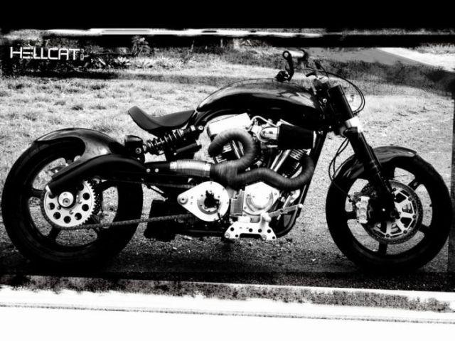 Rare Confederate Motorcycles (77 pics)