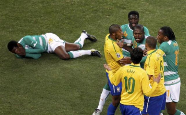 The Best Moments from World Cup 2010 (114 pics)